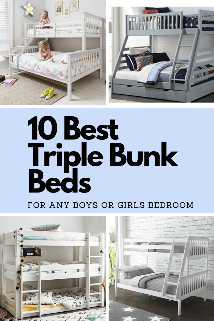 Best Triple Bunk Beds Your Kids Will Love Kids Beds Experts