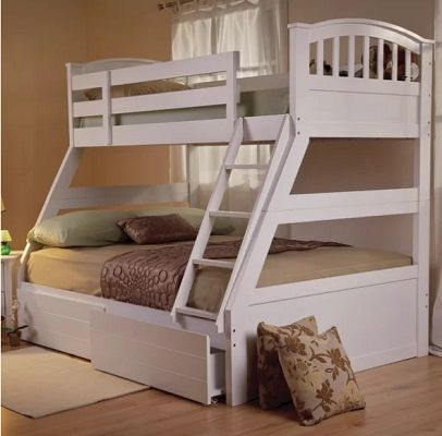 Alabama Gypsyrose Triple Sleeper Bunk Bed, by Harriet Bee
