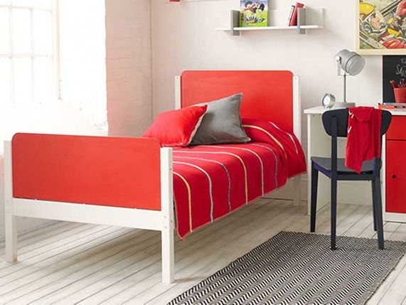 Clancy Single Bed in Red