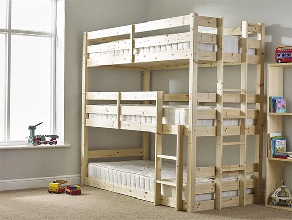 Derby 3 Tier Triple Bunk Bed