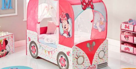 Cool Toddler Beds for Girls: Minnie Mouse, Disney Frozen and More