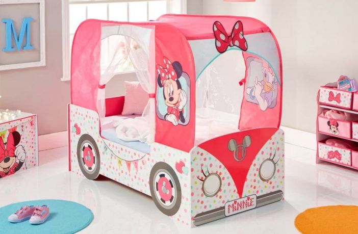 Cool Toddler Beds For Girls Minnie Mouse Disney Frozen And More Kids Beds Experts