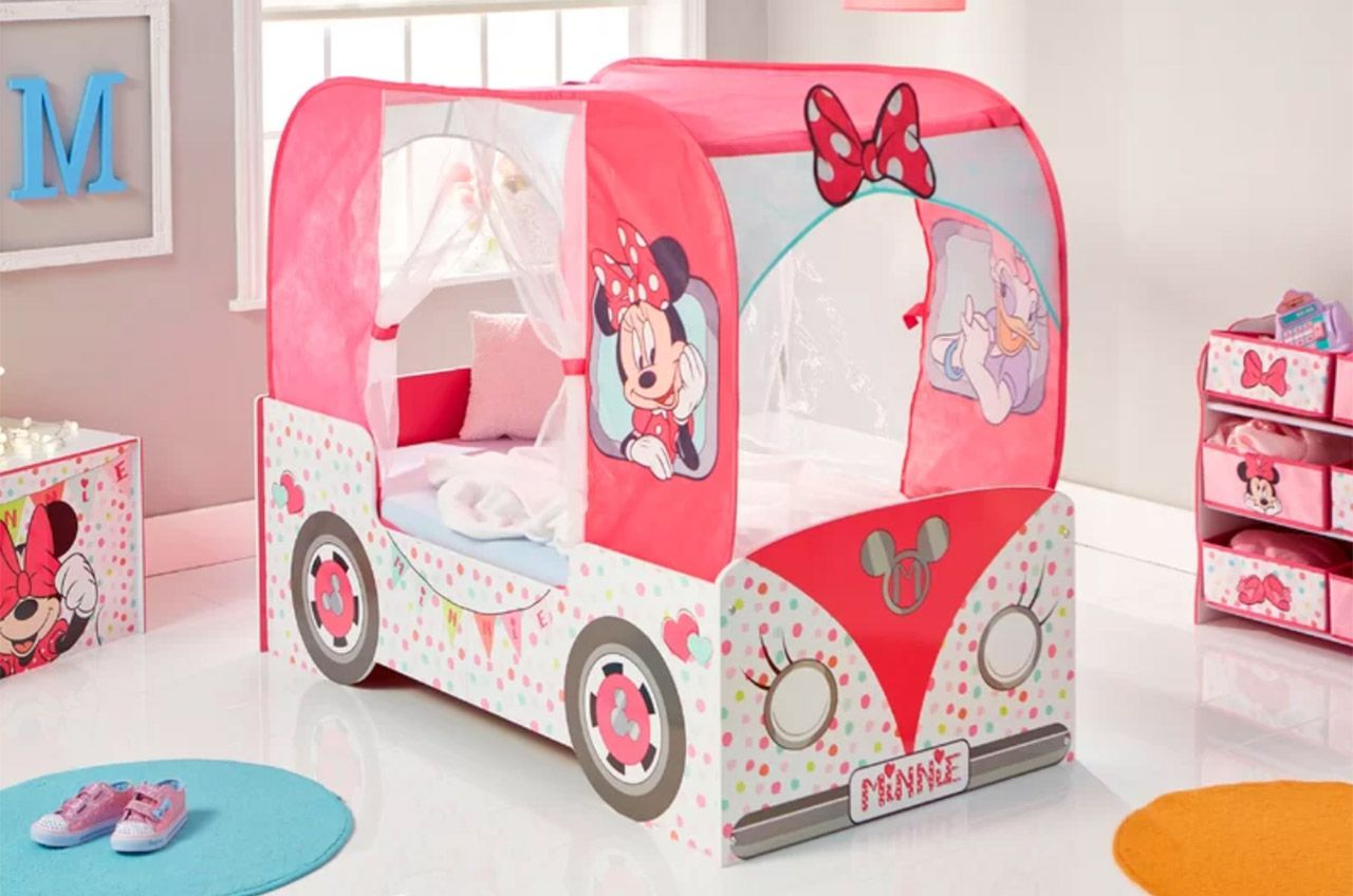 Cool Toddler Beds For Girls Minnie Mouse Disney Frozen And