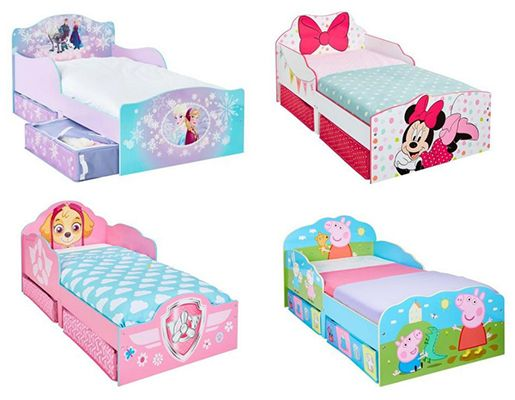 Hello Home Girls Toddler Beds with Storage