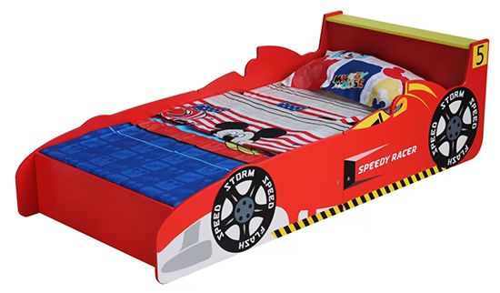 Jaqueline Racing Toddler Car Bed