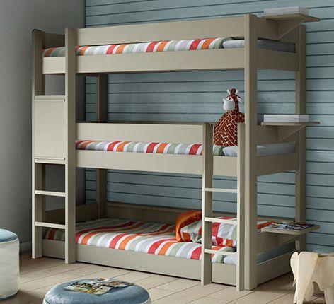 Mathy by Bols Kids Triple Bunk Bed