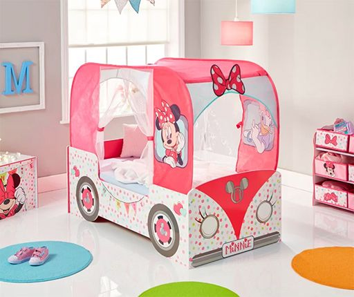 Minnie Mouse Campervan Toddler Bed