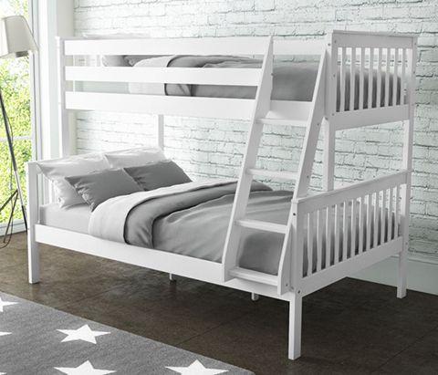 Oxford Triple Bunk Bed white