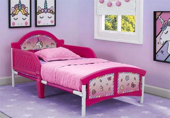Rainbow Dreams Unicorn Toddler Bed