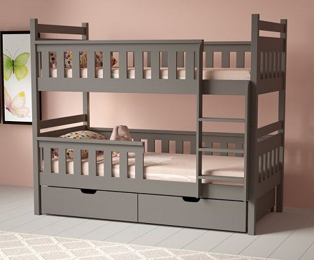 Savannah Wooden Bunk Bed with Drawers