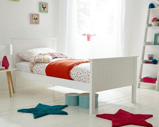 Silentnight Jupiter Solid Pine Kids Single Bed