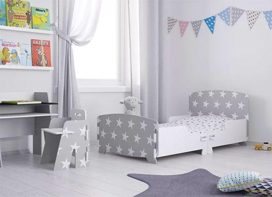 Star Junior Toddler Bed Frame