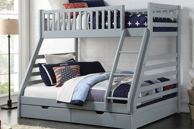 Sweet Dreams State Triple Bunk Bed