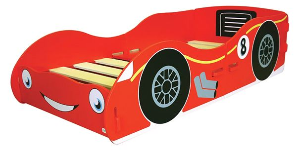 Theme Junior Racing Car Bed
