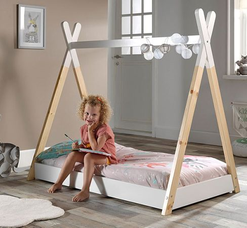 kids toddler tipi bed