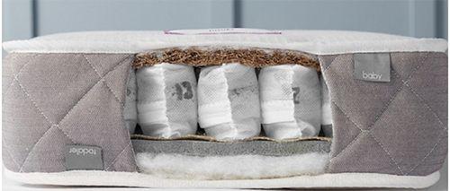 babywool luxury nursery mattress