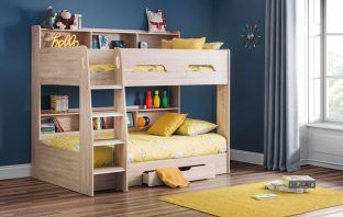 standard bunk bed fit image