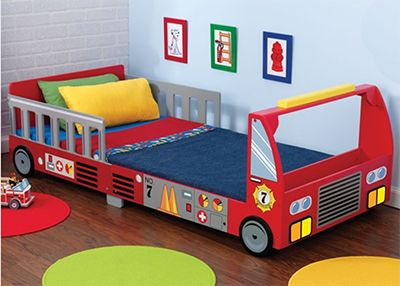 tire truck toddler bed