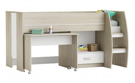 Mid Sleeper Beds: with Slides, Desks, Storage and More ...