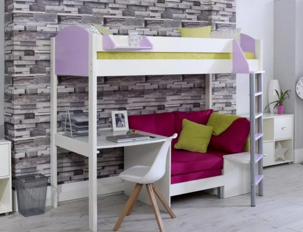 High Sleeper Beds: with Desks, Storage, Sofa Beds and More!