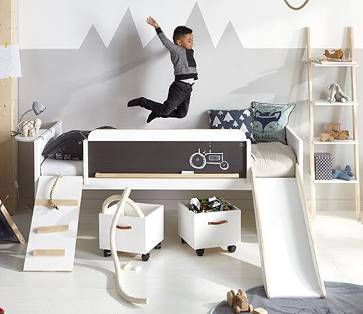 High Sleeper Learn and Play Bed