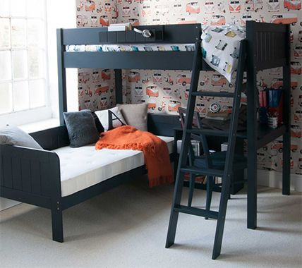 Admirable High Sleeper Beds With Desks Storage Sofa Beds And More Bralicious Painted Fabric Chair Ideas Braliciousco