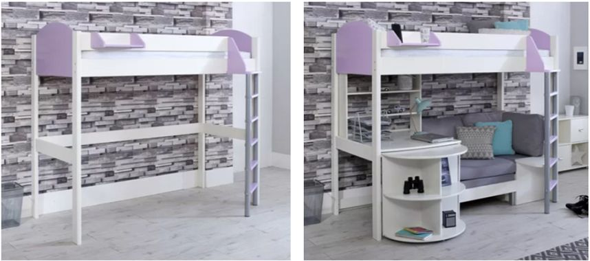 Peachy High Sleeper Beds With Desks Storage Sofa Beds And More Camellatalisay Diy Chair Ideas Camellatalisaycom