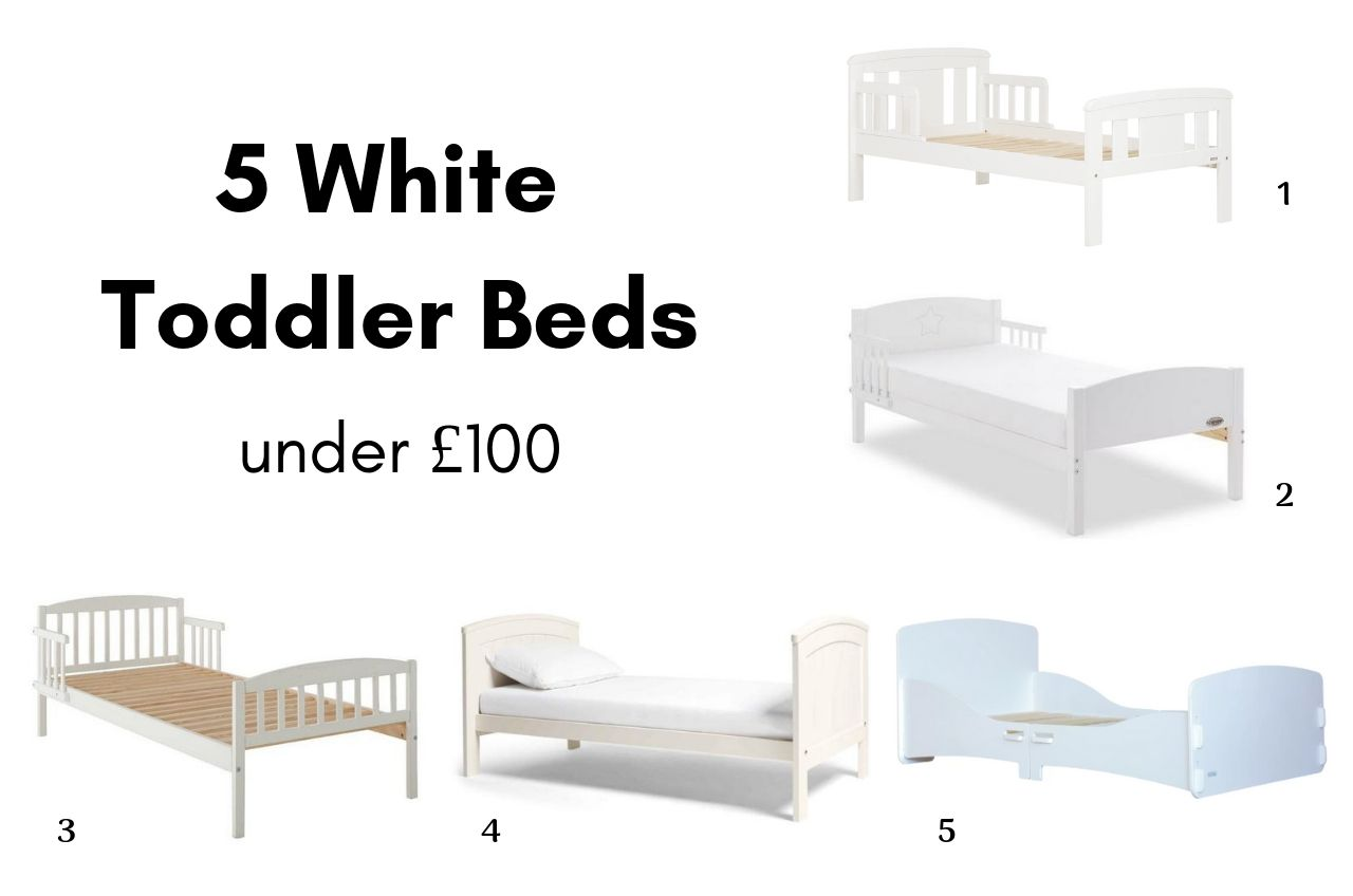 5 White Toddler Beds