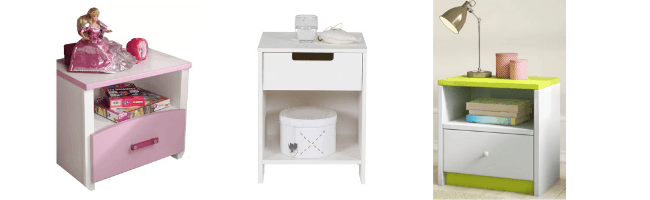 kids bedside tables