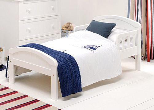 Country-White-Toddler-Bed