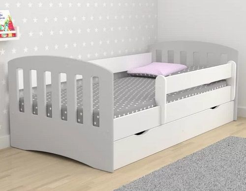 Healy Cabin Bed with Mattress and Drawer, by Isabelle & Max