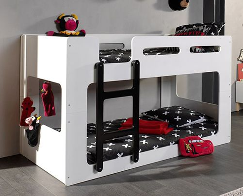 Lucca low bunk bed