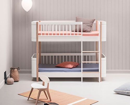 oliver luxury toddler mini bunk bed
