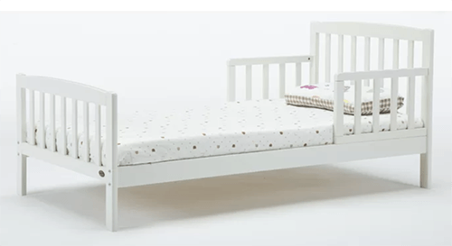 joshua toddler bed with mattress by Harriet Bee
