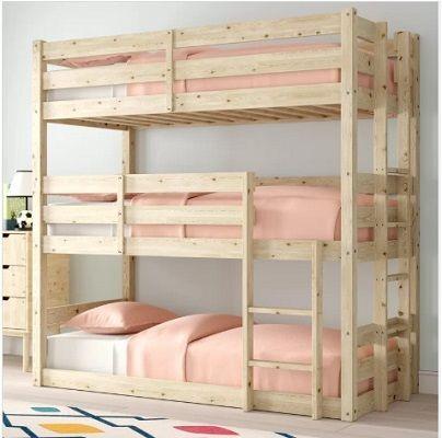 Derby 3 Tier Triple Sleeper Bunk Bed