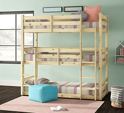 Ellen Single Triple Sleeper Bunk Bed