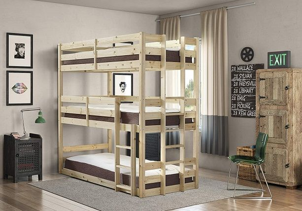 strictly beds and bunks - pandora triple sleeper bunk bed