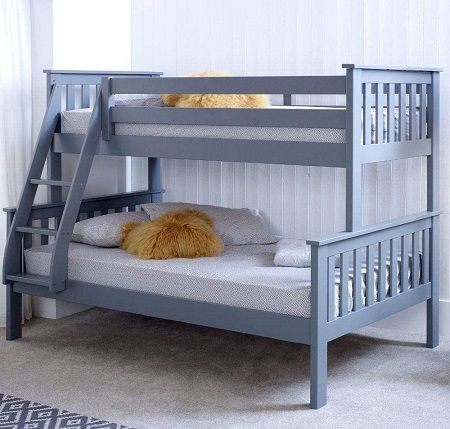 Atlantis Single on top of Small Double Bunk Bed, by Happy Beds