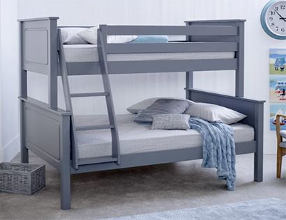 Bilton Double Bunk Bed with Mattress