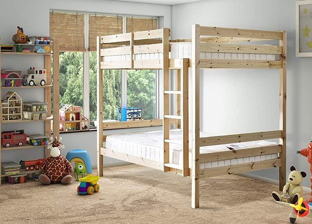 Everest Classic Bunk Bed (4ft 6 Double), by Strictly Beds and Bunks