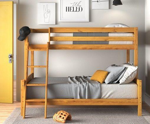 Jamie Bunk Bed Small Double, by Zipcode Design