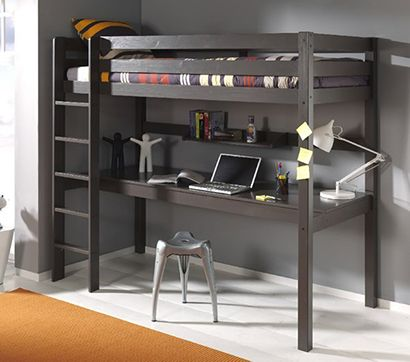 Kids-Pino-High-Sleeper-Bed-with-Large-Desk Cuckooland