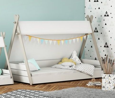 Alisa European Single Canopy Bed, by Isabelle & Max