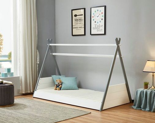 Dusti Raine Bed Frame, by Harriet Bee