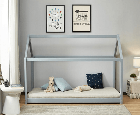 Dweezil Bed Frame, by Harriet Bee