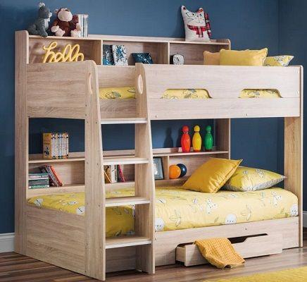 Eleanor Single Bunk Bed, by Harriet Bee