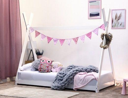 Scarlett Teepee Style Single Canopy Bed, by Harriet Bee
