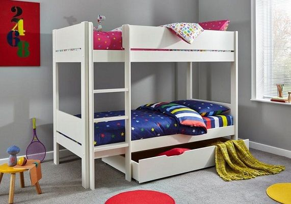 tinsley bunk bed with storage drawer