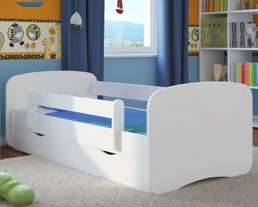 Caswell Cabin Bed with Mattress and Drawer