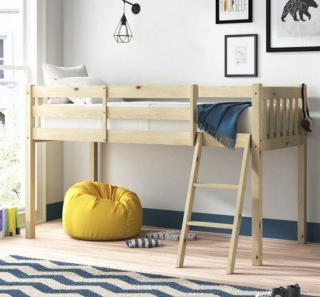 Bristol Mid Sleeper Bed, by Zipcode Design